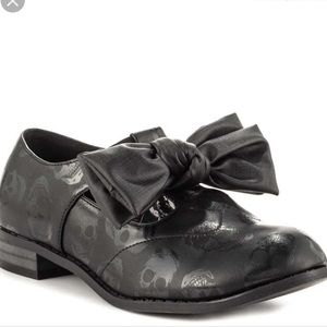 Iron fist Ashes to Ashes now oxfords